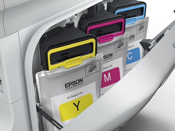 epson ink bags in printer spot