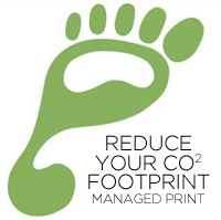 Managed Print Reduce Carbon (CO2) Footprint
