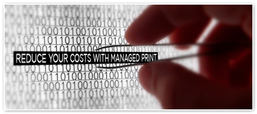 Managed Print  Reduce Print Costs