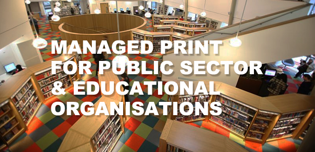 Education and public sector managed print solutions