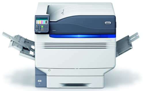Photograph of the Oki ES9541 A3 led digital printer